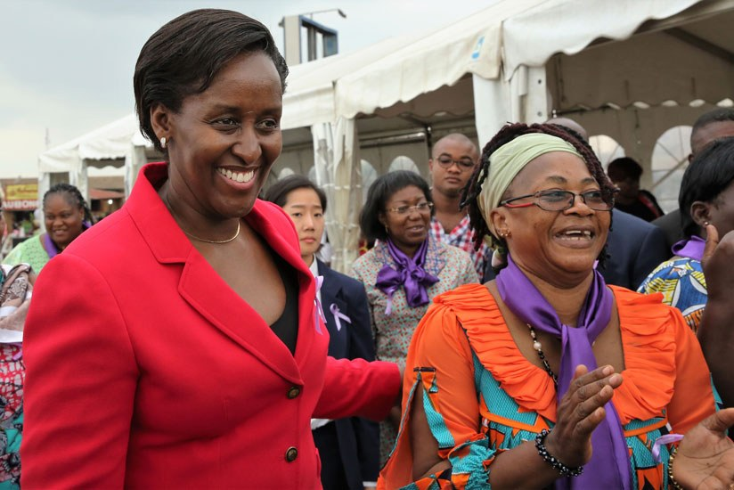 First Lady Jeannette Kagame Attends Widows Day Celebrations In Gabon