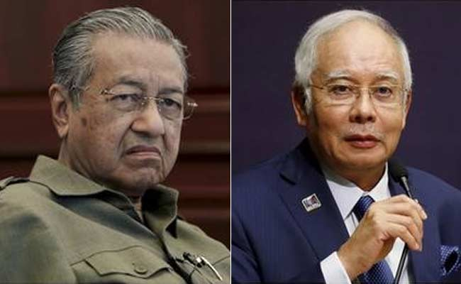 Mahathir-Mohamad-Hounds-Scandal-Ridden-Malaysian-PM-In-By-Election-Campaign