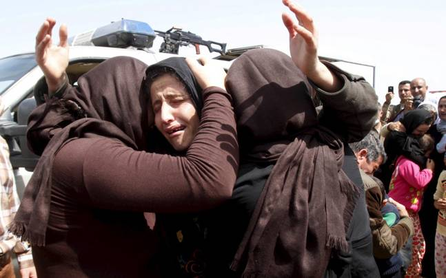 Militant-Group-Burns-19-Yazidi-Girls-For-Refusing-Sex-With-Fighters