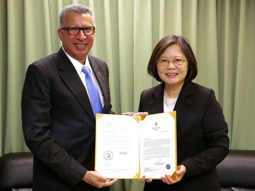 President-Tsai-Ing-wen-Hopes-For-Strengthened-Taiwan-Panama-Ties