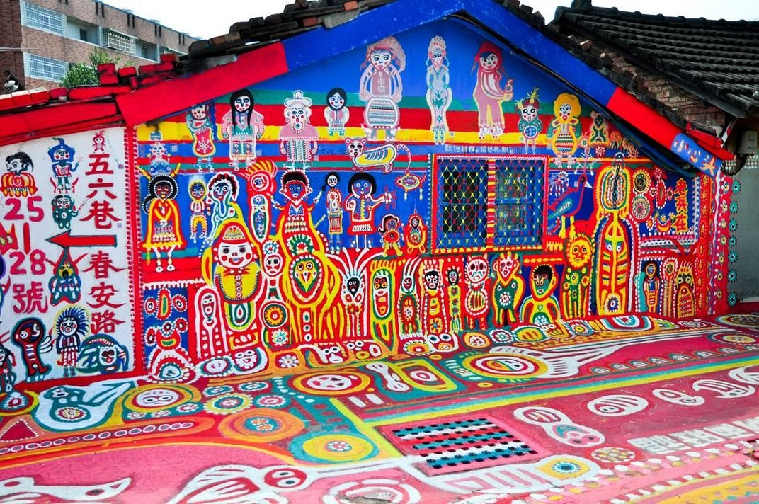 World Most Colorful Places Is In Taiwan
