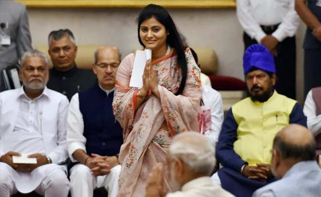 Anupriya Patel became youngest minister,UP Ally Dal said Bye to BJP
