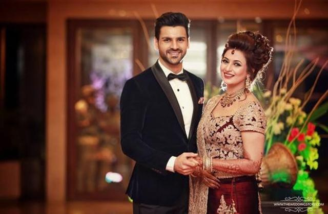 Divyanka wedding: Bride and groom's pics from the reception