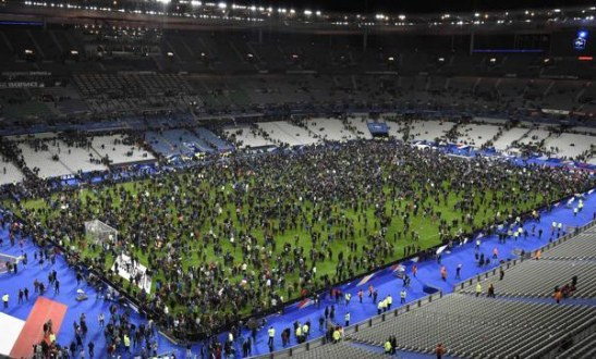 Paris attacks Night football became irrelevant to Germany and France