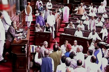 Trinamool Congress walk out of RS over growing attacks on dalits