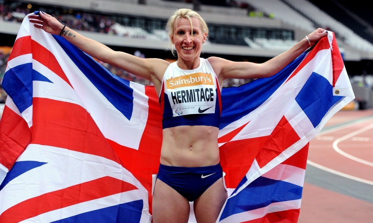 Georgie Hermitage to win T37 400m Paralympic gold breaks world record