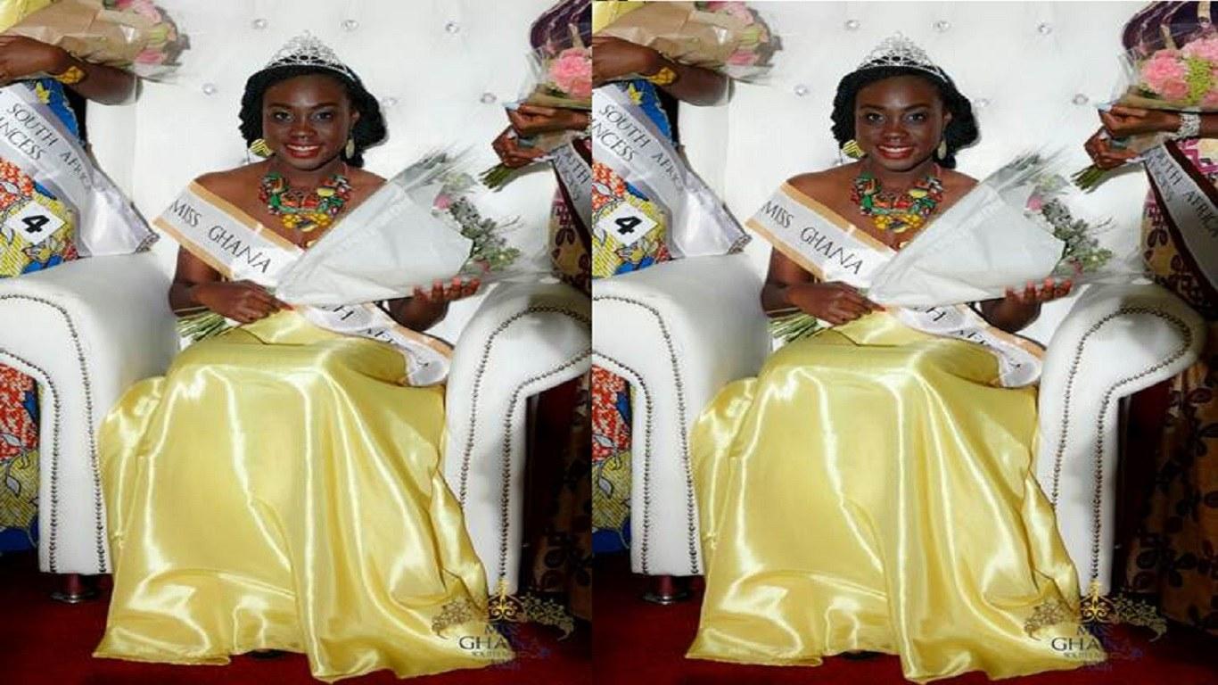 Michelle Danso wins 2016 Miss Ghana South Africa Award