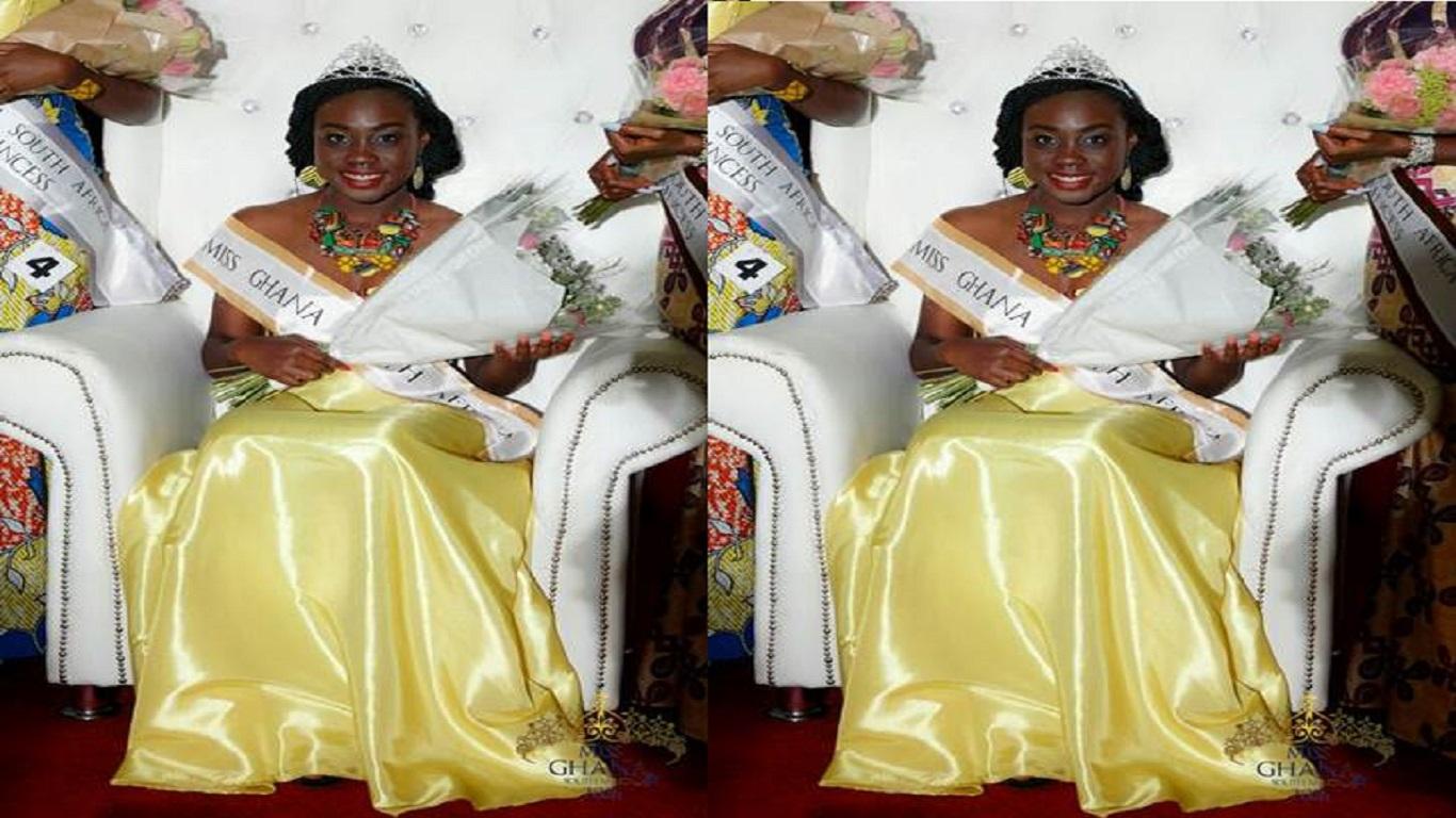 Michelle-Danso-wins-2016-Miss-Ghana-South-Africa-Award