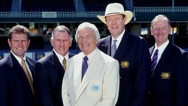 The birth of cricket's two most iconic voices: Richie Benaud and Tony Greig