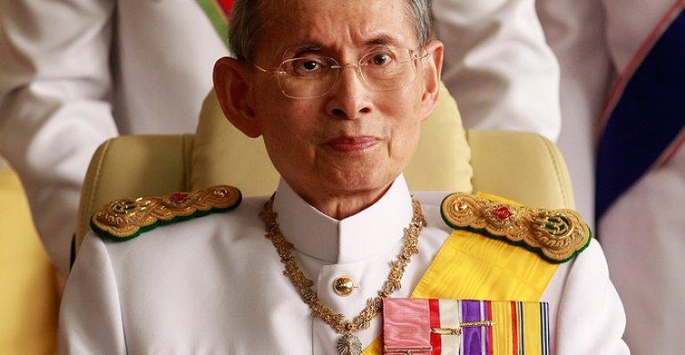 Bhumibol Adulyadej King of Thailand dead last night