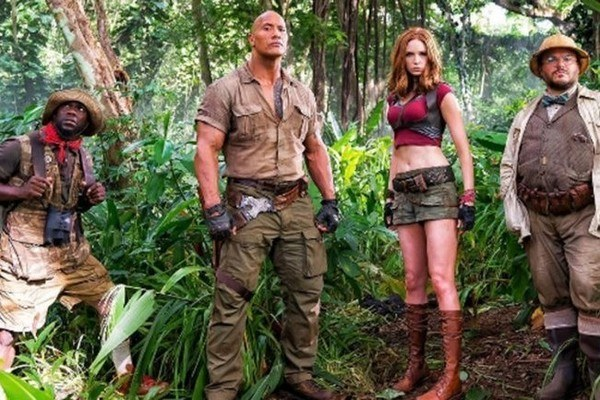 The First Look from the Set of 'Jumanji' Is Truly Something