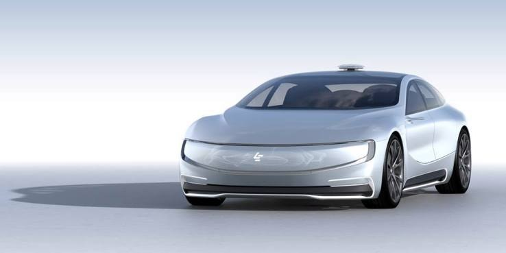 LeEco wheels out its own self-driving electric concept car