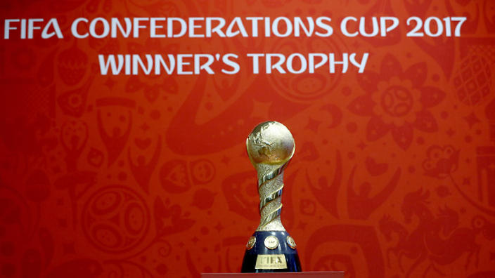 General view on November 23, 2016 in Kazan, Russia. The official draw of FIFA Confederations Cup Russia 2017 will be held in Kazan on November 26.