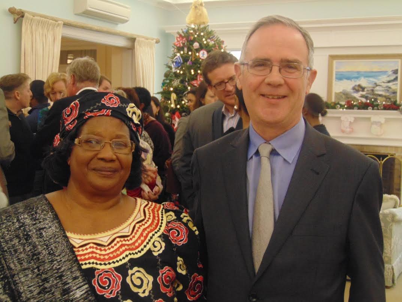 Bermuda Governor hosts Joyce Banda, UN diplomats ahead of sexual and reproductive rights meet