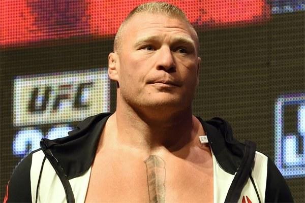 Brock Lesnar notifies the UFC