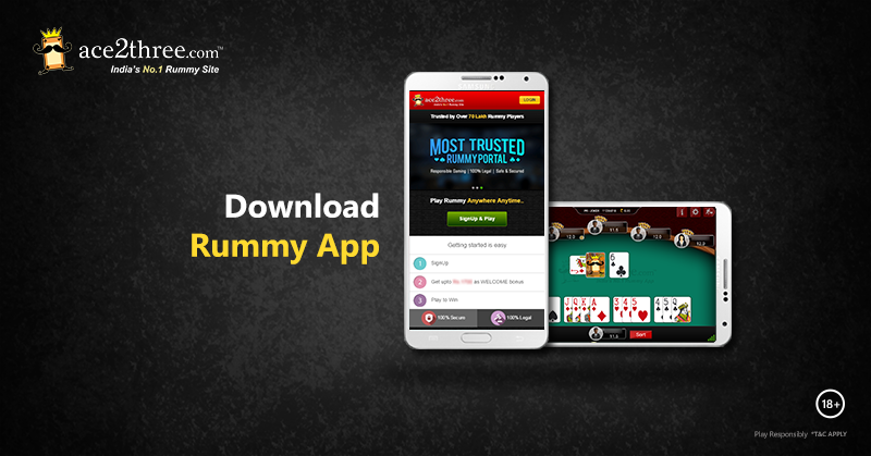 Download Indian Rummy App to Play Rummy on the Move!