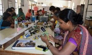 Rajasthan collage creating Warriors Who Take On Gender Injustice