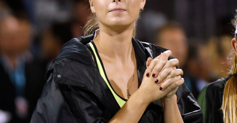 Maria Sharapova admiting new thing in banned drug case