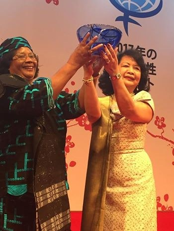 Global Summit of Women 2017 wraps up in Tokyo, Joyce Banda the Malawian Pride attended