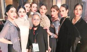 Pakistani fashion takes over London