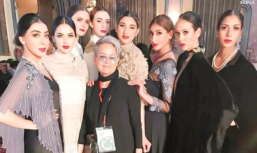 Pakistani fashion takes over London