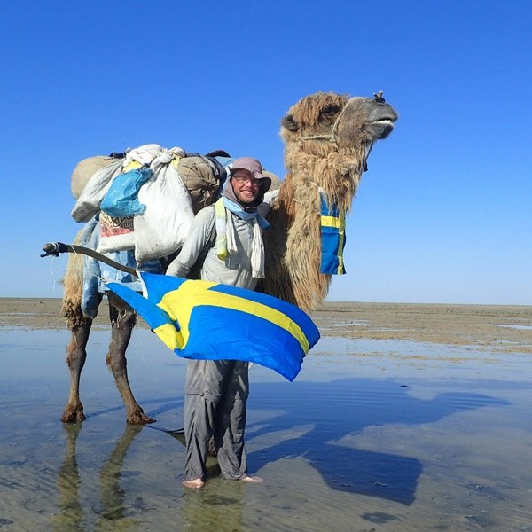 Mongolia-Kazakhstan camel expedition documentary series will be released by Swedish adventurer