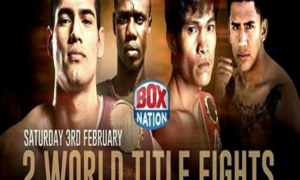 Mexico fight against Ghana in USA for the WBO super middleweight title of the world
