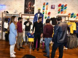Peshawar Fashion Brand Zalmi launches causal fashion line, in Karachi Pakistan