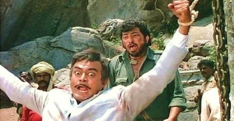 Why Sholay's ending has two version