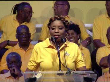 Outspoken the DLP candidate reacts to Mottley's Cabinet announcement