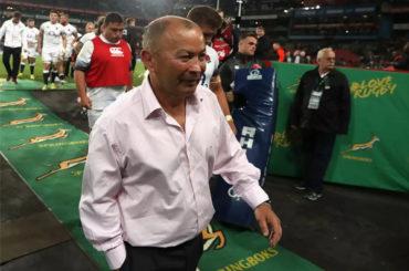 RFU supports England coach in Eddie Jones despite struggles in South Africa