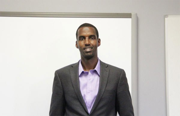 Man leaves high – paying job to build school in his home country of Somalia