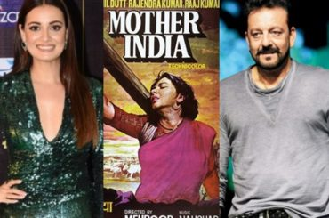 Dia Mirza buys iconic 'Mother India' poster for Sanjay Dutt
