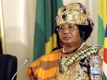 MALAWI'S JOYCE BANDA IS THE PARTY LEADER FOR 2019 ELECTION BY PEOPLES PARTY