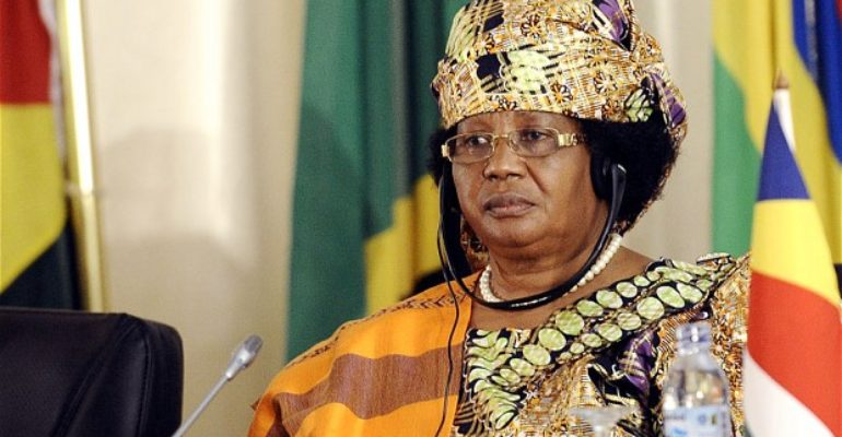Ex-Malawian President, Joyce Banda delivered a lecture for Agagu Memorial Lecture