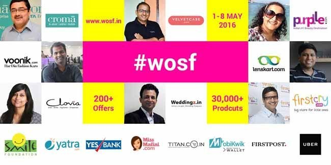 Women Online Shopping Festival is here to pamper you