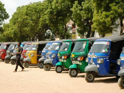 So why tuktuks flooded the streets of Mombasa, Kenya?