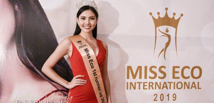 Malaysian beauty queen Maureen Montagne is new Miss Eco International 2019