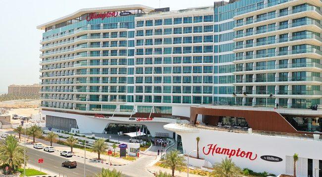 Marjan welcomes AED 450 million new hotel project: the world's largest Hampton By Hilton hotel in Al Marjan Island